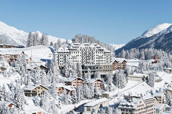 Carlton Hotel St. Moritz : Exterior View
