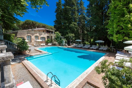 Pievescola, Italy: Swimming Pool