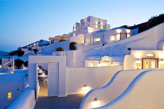 Canaves Oia Hotel: Canaves Oia Exterior