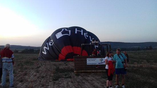 Balaton Ballooning: Leszállás után