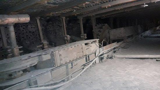 Zabrze, Polonia: chodnk podziemny