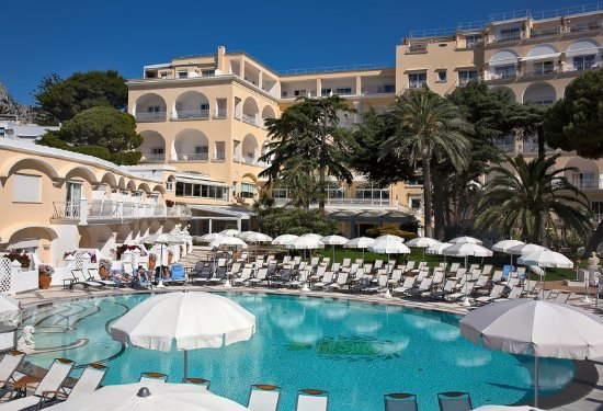 Grand Hotel Quisisana: Pool