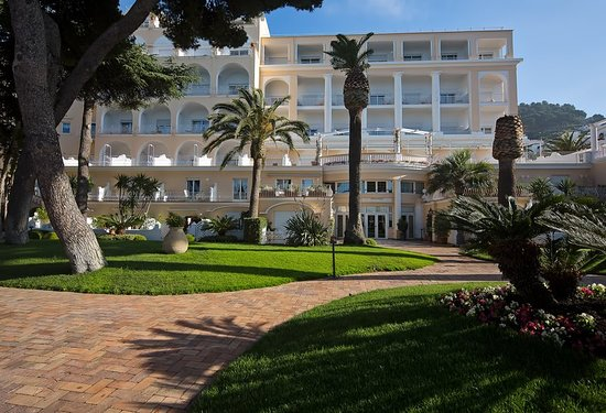 Grand Hotel Quisisana: Park