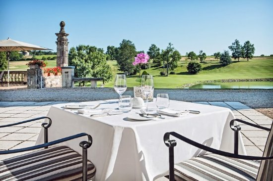 Monestier, France: Gastronomic Restaurant Terrasse