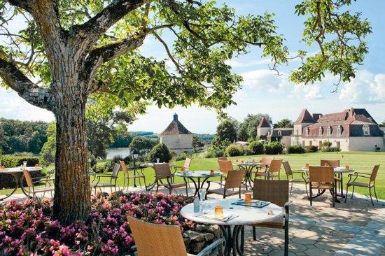 Monestier, Frankrike: Terrasse De La Brasserie