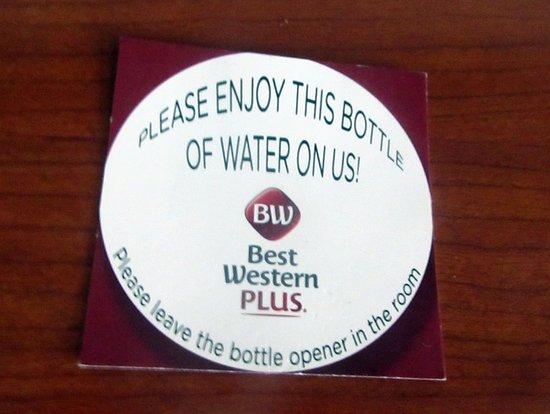 Complementary Water in Room, Best Western Plus High Sierra Hotel, Mammoth Lakes, C