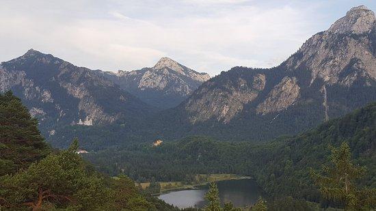 Kalvarienberg: Zámky a Schwansee