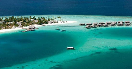 Halaveli Island: Aerial View