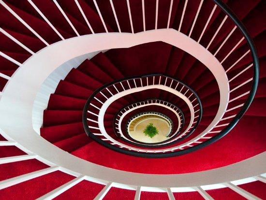 Leinfelden-Echterdingen, Deutschland: State-of-the-art staircase