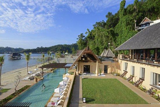 Pulau Gaya, Malaysia: Swimming Pool