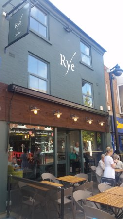 Beeston, UK: Rye