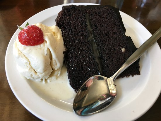 Washingborough, UK: Choc fudge cake
