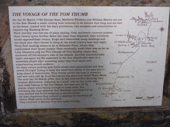 Cronulla, Australië: Their Early Voyages in the Tom Thumb