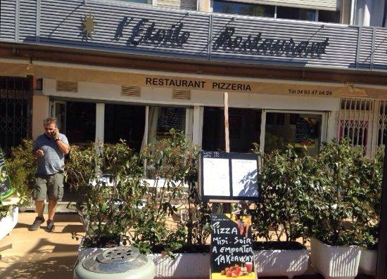 Restaurant de l 39 etoile cannes restaurant avis num ro for Meilleur resto cannes