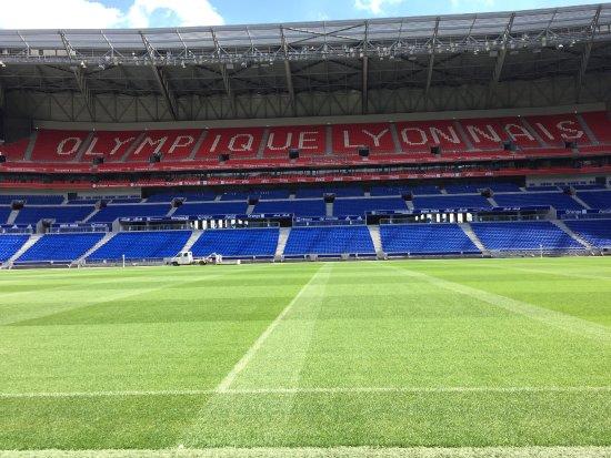 Visite Du Groupama Stadium Vue Terrain