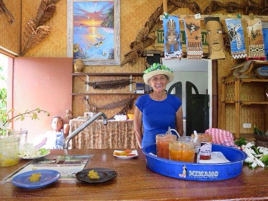 Papetoai, بولينيزيا الفرنسية: Jardin tropical