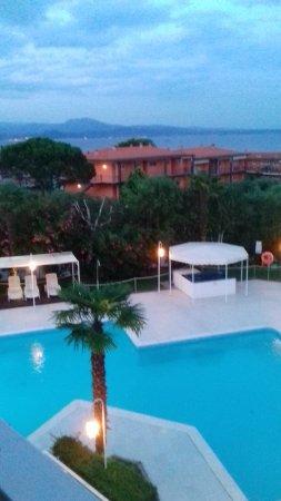 Residence Apparthotel San Sivino : Blick vom Balkon