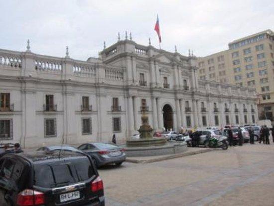 Santiago, Chili: 歴史の舞台
