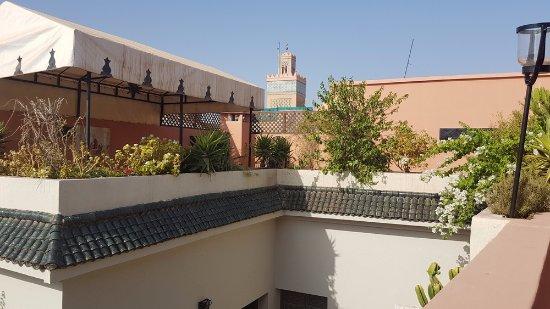 Riad Villa Harmonie: Terrasse