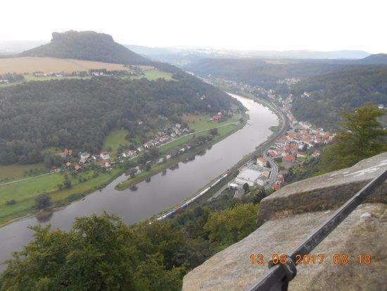 Koenigstein, Alemanha: Widok na okolice twierdzy