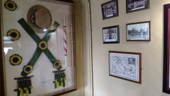 Congresbury, UK: Local Morris Side photos and regalia