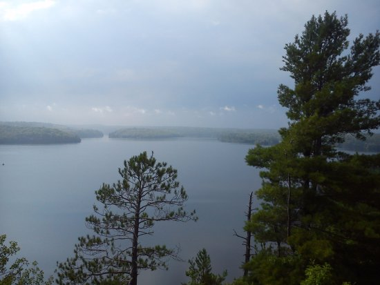 Restoule, Canada: Lookout from Fire Tower Trail