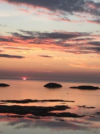 Froya Municipality, Norwegia: Nydeligste solnedgangen ☀️