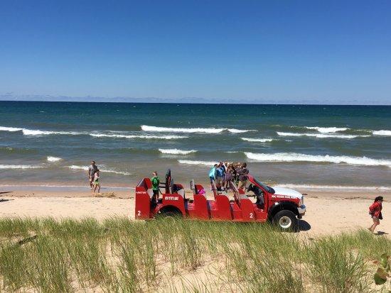 Mears, MI: Stop on the Beach
