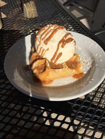Newington, CT: Cookie Dough Waffle