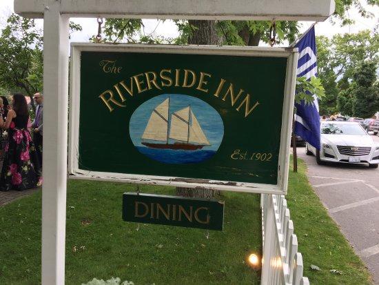 Leland, MI: front yard sign