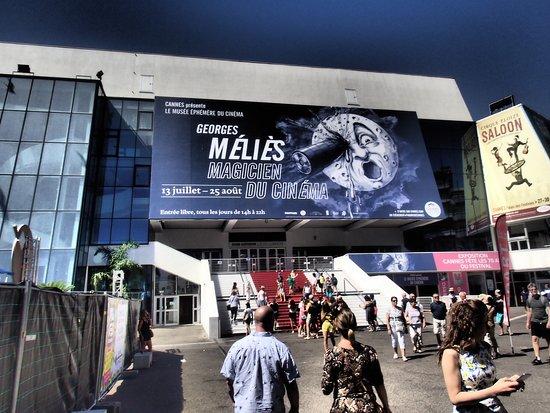 Palais des Festivals et des Congrès of Cannes: The steps....