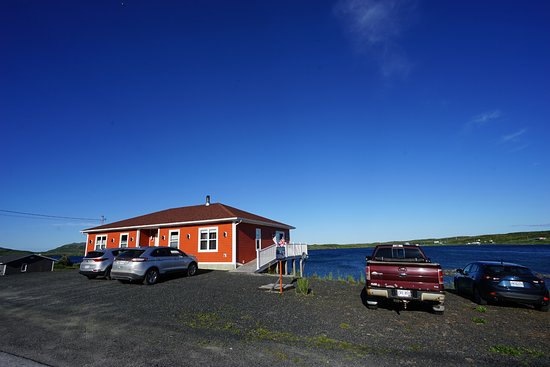 Quirpon Island, Kanada: View from outside.