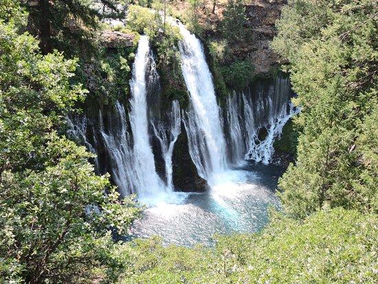 Mcarthur Burney Falls Memorial State Park At Trail Head