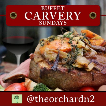 Grabouw, Sydafrika: Buffet Carvery every Sunday at The Orchard Farm Stall - BOOK NOW!