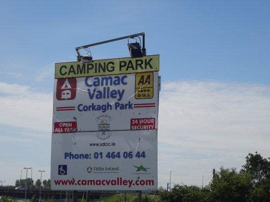 Clondalkin, Ireland: Camac Valley Tourist Caravan and Camping Park