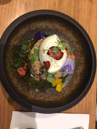 Essendon, Australia: Bircher Muesli with Coconut Parfait