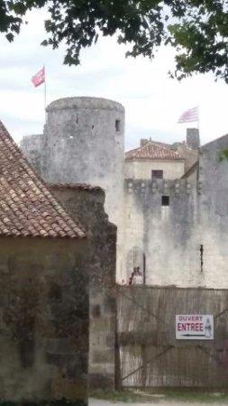Château fort de Saint Jean d'Angle : le chateau fort