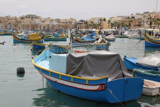 Marsaxlokk, Malta: de haven