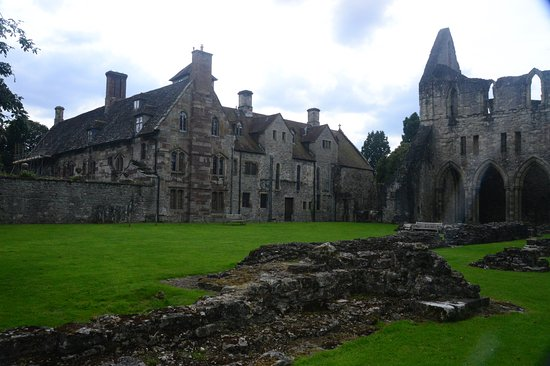 Much Wenlock Abbey. A place of tranquility.