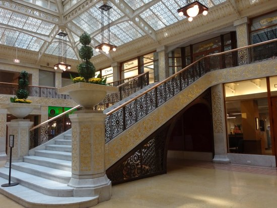 The Rookery: Staircase From First Floor. The Rookery: Frank Lloyd Wright ...