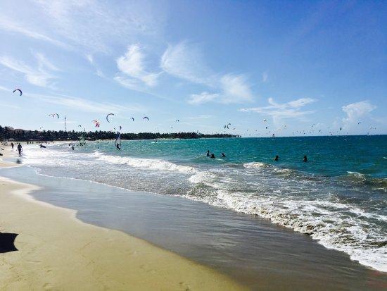 Cabarete, República Dominicana: Kite Surfers