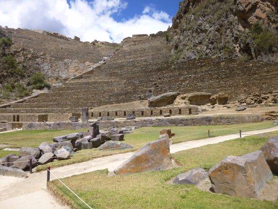 Cusco Region, Peru: Valle Sagrado de los incas centro arqueológico de ollantaytambo