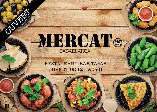 Restaurant et bar à tapas - Picture of Mercat, Casablanca - TripAdvisor