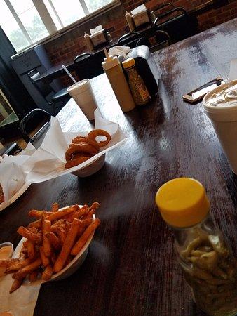Canton, GA: fries and rings