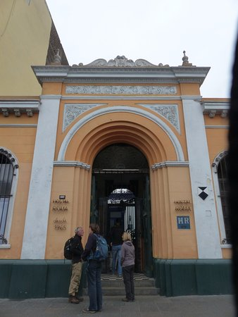 Hostal Roma : Entree buitenzijde
