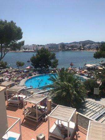 Alua Miami Ibiza: View from balcony of premium sea view room !