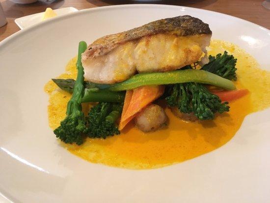 Baslow, UK: fish
