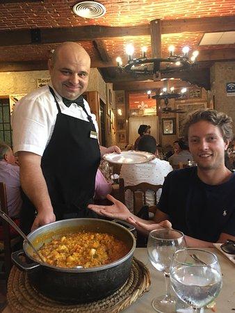 Best food we had in Cartegna
