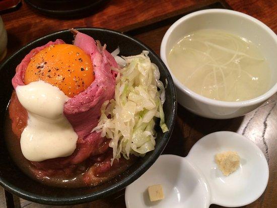 ローストビーフ丼 , 千代田区、ローストビーフ大野 秋葉原店の