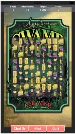 Aspirations Winery : Our very own wine crush game!